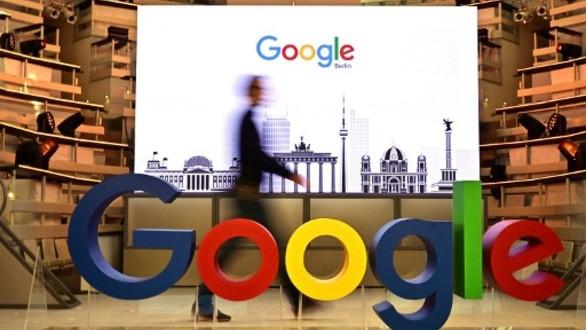 Google nói đã đóng thuế thu nhập doanh nghiệp với tỉ lệ 23%, hầu hết tại Mỹ, nhưng sẽ ủng hộ một hiệp định toàn cầu nhằm thay đổi phương thức đánh thuế với các công ty đa quốc gia như họ - Ảnh: AFP