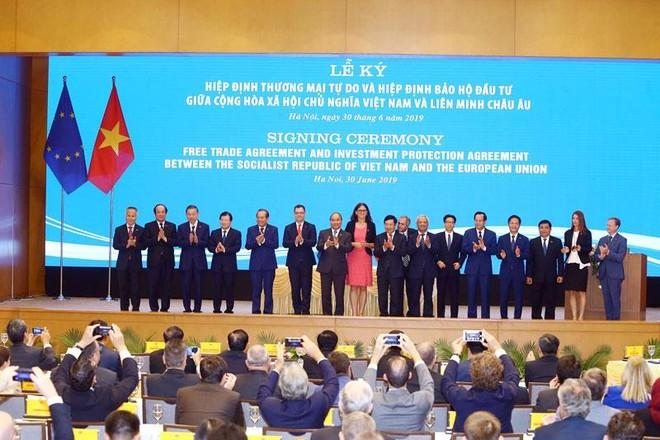 EVFTA và IPA đã được ký kết chiều 30/6/2019 tại Hà Nội, mở ra một chương mới trong quan hệ thương mại, đầu tư giữa Việt Nam là Liên minh châu Âu (EU).
