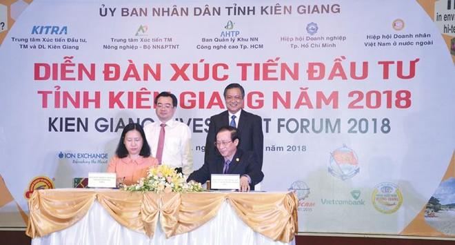 Hoạt động xúc tiến đầu tư ở Kiên Giang luôn được đổi mới về phương thức.
