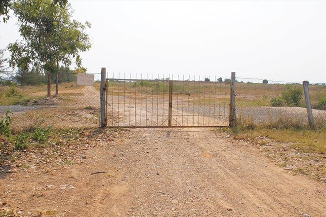 Khu đất dự án Nhiệt điện Kiên Lương 1.