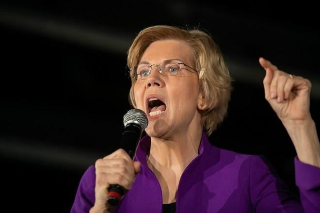 Thượng nghị sĩ Elizabeth Warren. Ảnh: AFP
