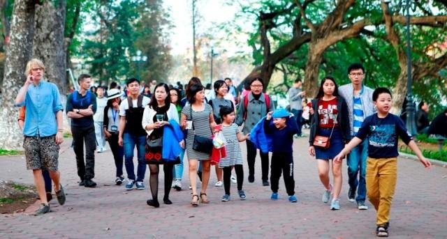 Trong 10 tháng, khách du lịch quốc tế đến Hà Nội ước đạt gần 5,33 triệu lượt khách