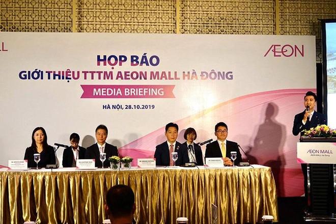 Aeon MALL sẽ xây 20 trung tâm thương mại tại Việt Nam, khai trương Aeon MALLHà Đông vào tháng 11 tới ảnh 1