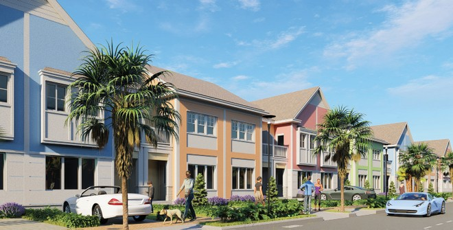 Phối cảnh mẫu second home tại Tổ hợp du lịch nghỉ dưỡng giải trí NovaWorld Phan Thiet