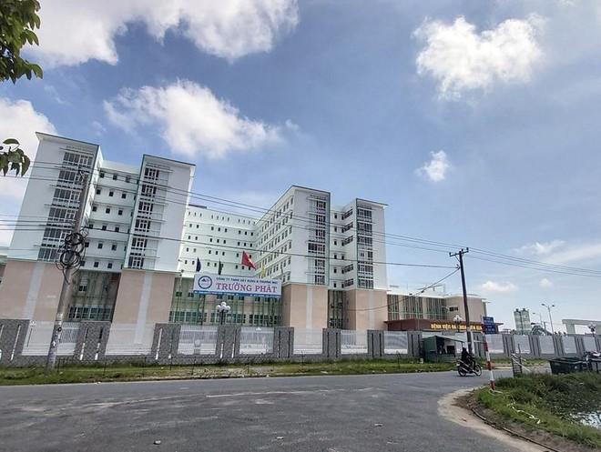 Bệnh viện Đa khoa Kiên Giang đã cơ bản xây dựng xong, chỉ còn chờ lắp đặt thiết bị y tế.