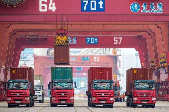 Với GDP tăng 6,1% trong năm 2019, Trung Quốc vẫn đạt mục tiêu tăng trưởng đề ra. Ảnh: AFP