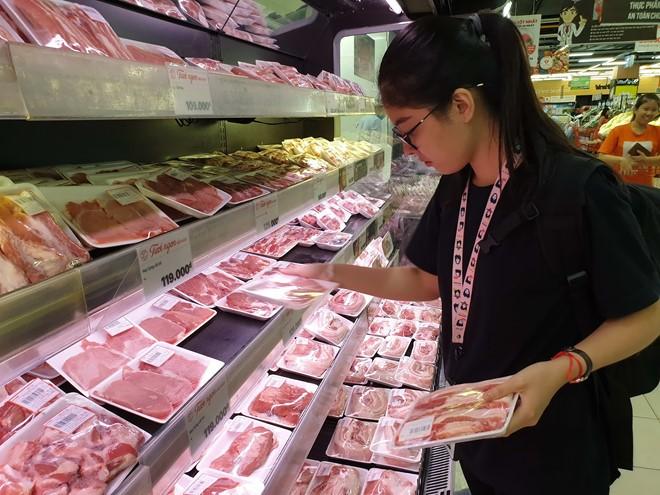 Giá thịt heo, rau củ... tiếp tục giảm