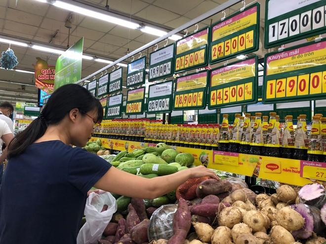 Giá thực phẩm, rau củ đã giảm ảnh 1