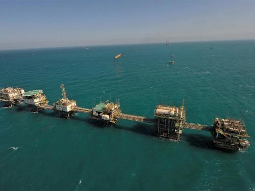 Hoạt động sản xuất dầu mỏ ở Khu vực Trung lập của Kuwait và Saudi Arabia. Ảnh: Kuwait Gulf Oil Company