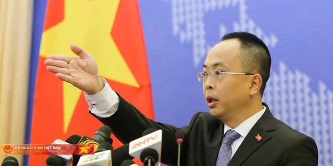 Phó Phát ngôn Bộ Ngoại giao Đoàn Khắc Việt (Ảnh: MOFA)