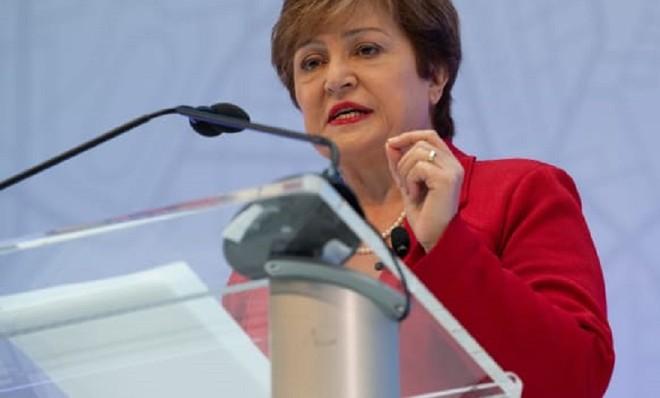 Tổng giám đốc IMF Kristalina Georgieva. Ảnh: AFP