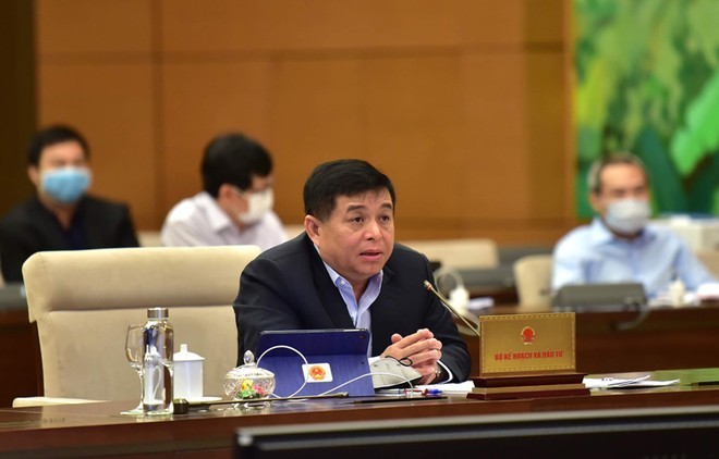 Bộ trưởng Bộ Kế hoạch và đầu tư Nguyễn Chí Dũng.