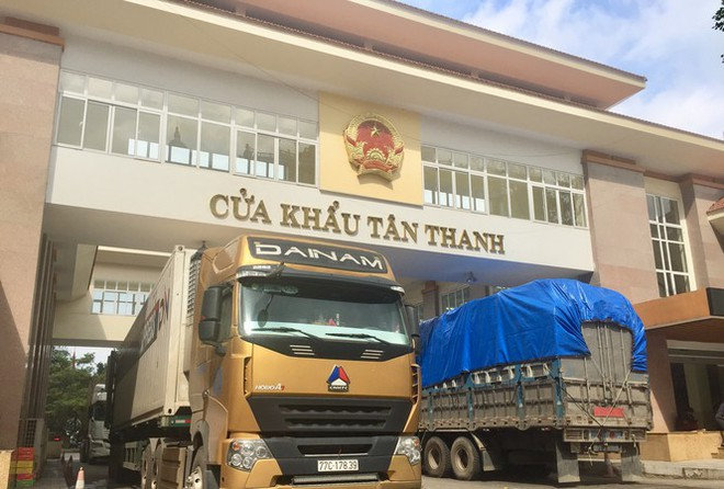 Tồn gần 1.000 xe hàng, Lạng Sơn đề nghị tạm dừng tiếp nhận hàng xuất khẩu tại cửa khẩu Tân Thanh