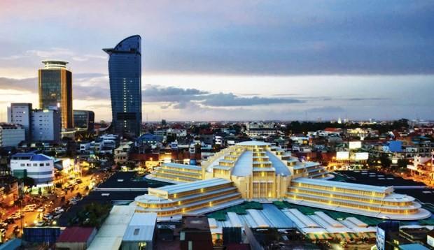 Moody's: Kinh tế Campuchia có triển vọng tăng trưởng vững vàng