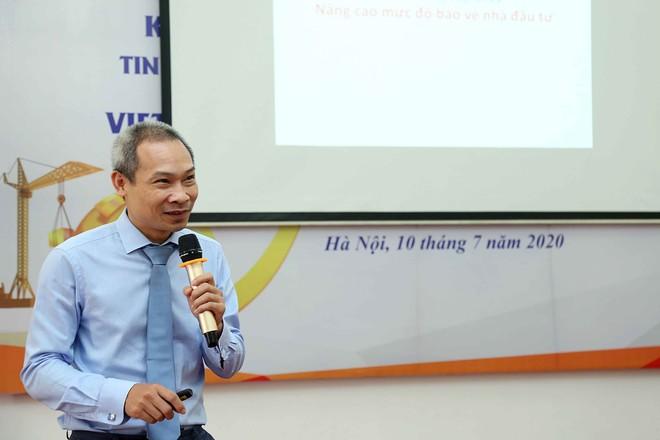 Ông Phan Đức Hiếu, Phó viện trưởng Viện Nghiên cứu quản lý kinh tế Trung ương (CIEM)