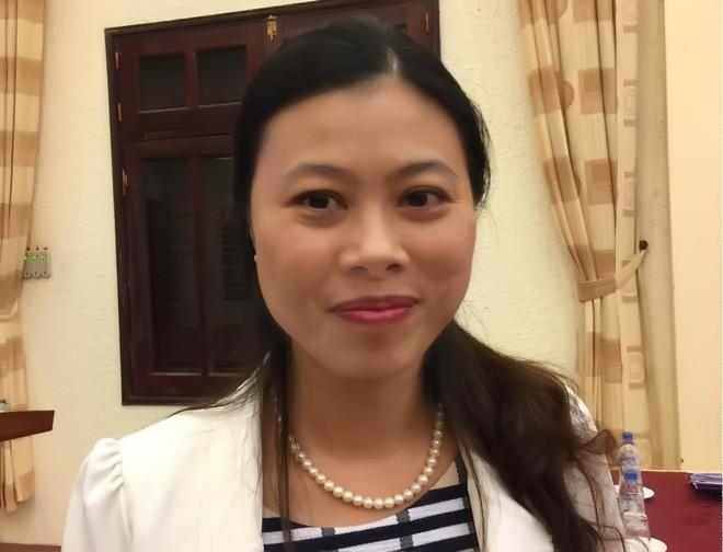 Bà Đỗ Thị Ngọc, Vụ trưởng Vụ Thống kê giá (Tổng cục Thống kê).