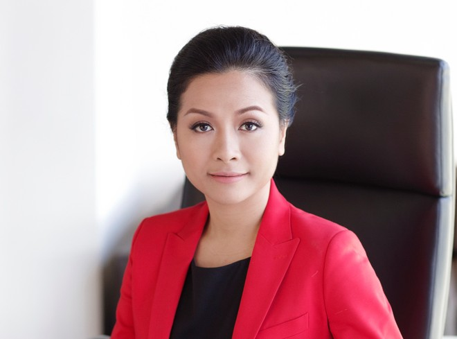Bà Trần Uyên Phương, Phó tổng giám đốc Tập đoàn Tân Hiệp Phát