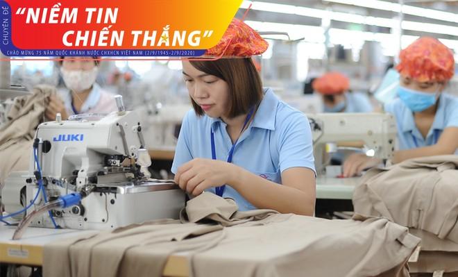 Người lao động May Sông Hồng đặt niềm tin vững chắc của họ vào Ban lãnh đạo và tương lai của doanh nghiệp