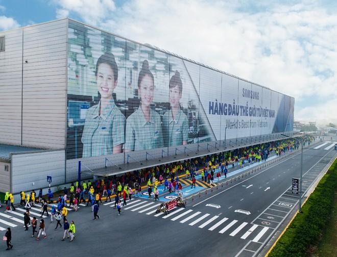 Samsung khẳng định Việt Nam vẫn là cứ điểm sản xuất toàn cầu của Tập đoàn. Ảnh: Samsung
