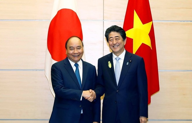 Thủ tướng Nguyễn Xuân Phúc và Ngài Abe Shinzo