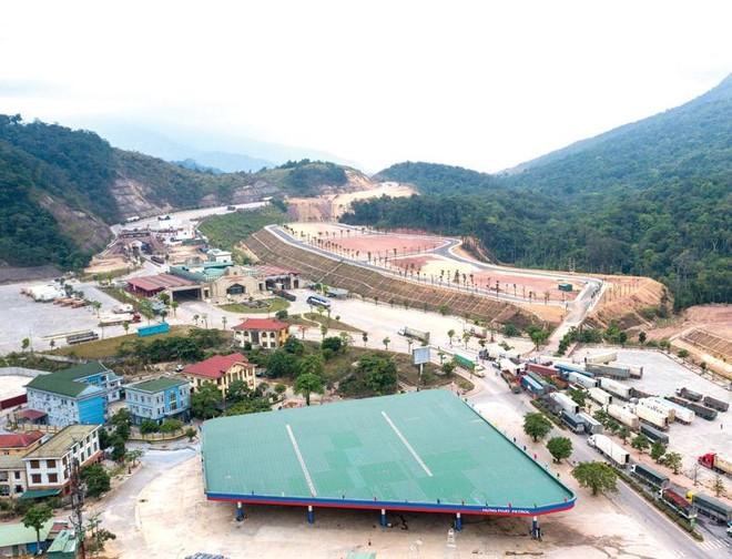 Khu vực Cửa khẩu quốc tế Cha Lo.