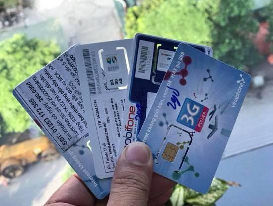 Bộ Thông tin và Truyền thông cho biết, Nếu để tồn tại SIM rác, sẽ không cấp phép các dịch vụ mới cho nhà mạng