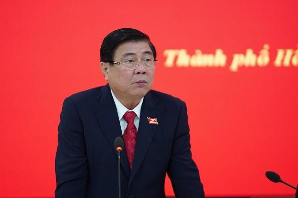 Ông Nguyễn Thành Phong, Phó Bí thư Thành ủy, Chủ tịch UBND TP.HCM