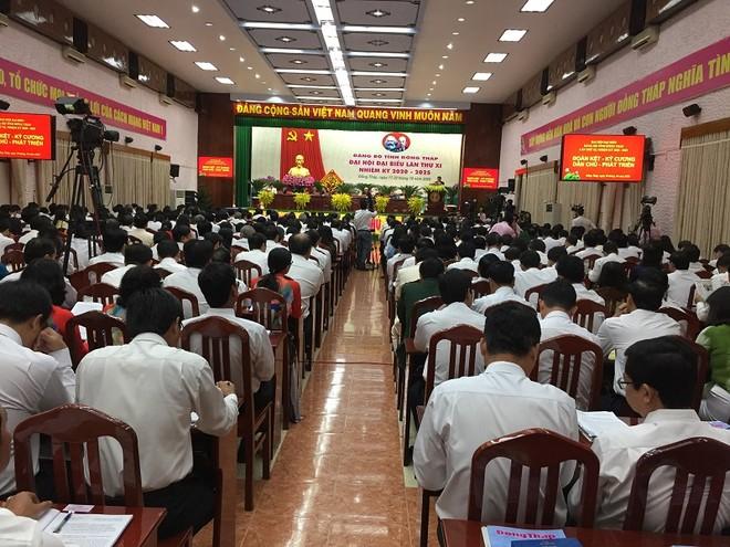 Ông Phạm Minh Chính, Ủy viên Bộ Chính trị, Trưởng Ban Tổ chức Trung ương dự và chỉ đạo Đại hội.