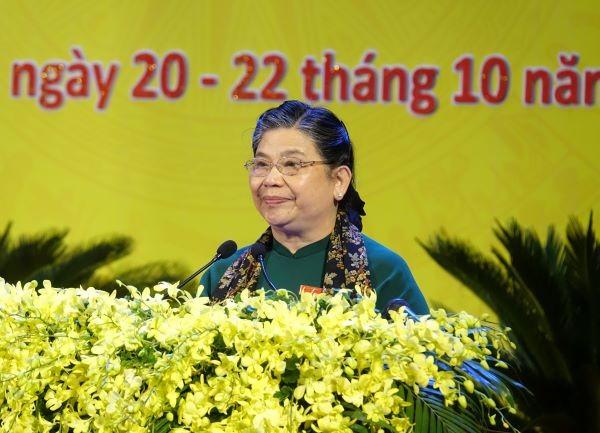 Theo sự phân công của Bộ Chính trị, bà Tòng Thị Phóng, Ủy viên Bộ Chính trị, Phó Chủ tịch Quốc hội chỉ đạo Đại hội Đảng bộ tỉnh Quảng Ngãi lần thứ XX, nhiệm kỳ 2020-2025