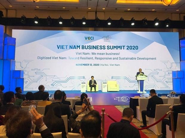 Hội nghị Thượng đỉnh Kinh doanh Việt Nam 2020. (Nguồn: dangcongsan.vn)