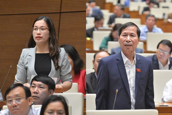 Đại biểu Đặng Thị Phương Thảo (Nam Định) là một trong số đại biểu kiêm nhiệm, phát ngôn, tranh luận thẳng thắn, tại kỳ họp thứ 10, Quốc hội khóa XIV