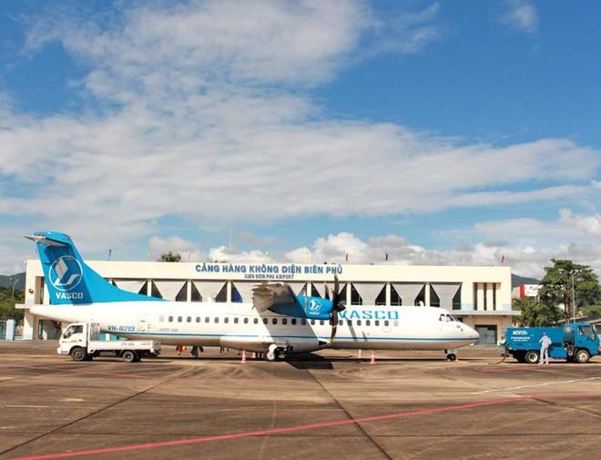 Cảng hàng không Điện Biên đang rất hạn chế do không thể khai thác các loại máy bay lớn. Ảnh: A.M