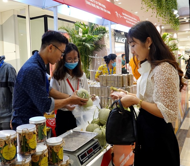 100 gian hàng đặc sản vùng miền, sản phẩm OCOP tại Hà Nội ảnh 3