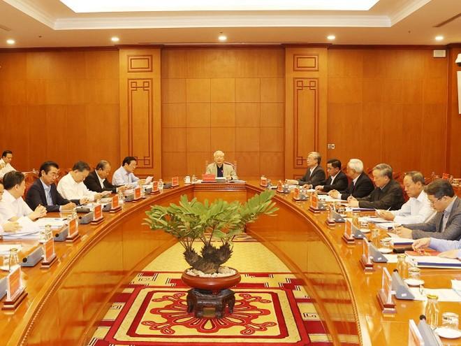 Cuộc họp của Thường trực Ban Chỉ đạo Trung ương về phòng, chống tham nhũng.