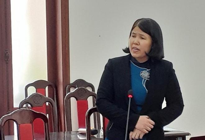 Bà Đặng Thị Thu Hoài, Trưởng ban Nghiên cứu kinh tế ngành và lĩnh vực của CIEM phát biểu tại Hội thảo.