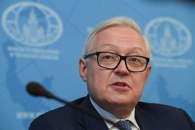 Thứ trưởng Ngoại giao Nga Sergei Ryabkov. Ảnh: AFP