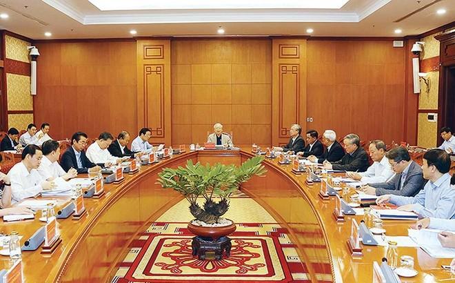 Một cuộc họp của Ban Chỉ đạo Trung ương về phòng, chống tham nhũng