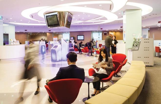 Không gian trung tâm phục vụ khách hàng của Hanwha Life