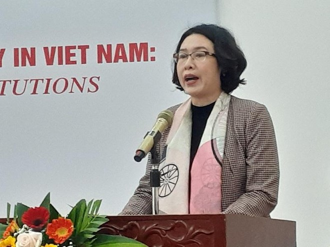 TS. Trần Thị Hồng Minh, Viện trưởng Viện Nghiên cứu quản lý kinh tế Trung ương (CIEM).