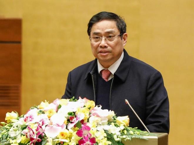 Trưởng ban Tổ chức Trung ương Phạm Minh Chính nêu điểm mới trong hướng dẫn công tác nhân sự (Ảnh MA)