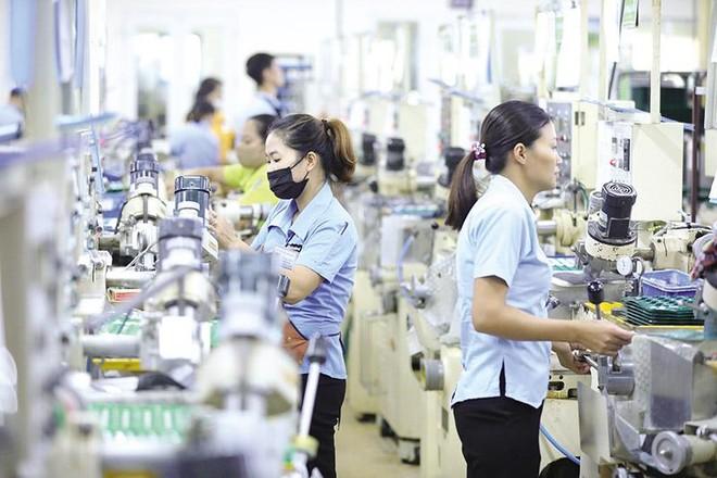 Cục Đầu tư nước ngoài vừa có cuộc họp bàn để kết nối cơ sở đào tạo với nhu cầu lao động của doanh nghiệp Nhật Bản. Trong ảnh: Khu sản xuất của Công ty R Technical (Nhật Bản) tại Việt Nam