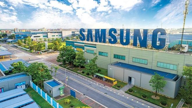 """Đồng vốn đầu tư của Samsung luôn luôn thuộc diện """"healthy"""" nhất, đúng với định hướng thu hút đầu tư nước ngoài của Việt Nam. Trong ảnh: Toàn cảnh Nhà máy SEV tại Bắc Ninh"""