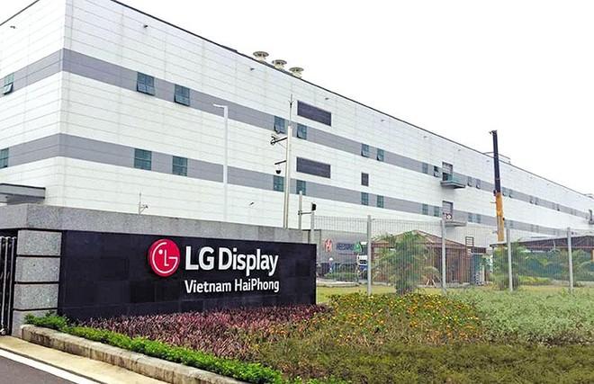 Dự án LG Display tại Hải Phòng đã 4 lần tăng vốn đầu tư.