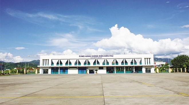 Cảng hàng không Điện Biên hiện hữu. Ảnh: A.M