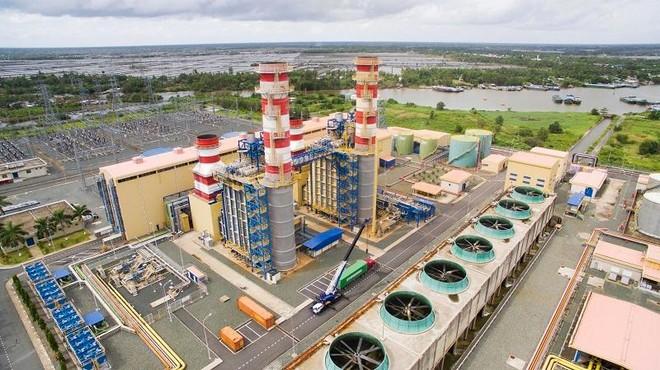 Nhà máy nhiệt điện khí Cà Mau 1 và 2.