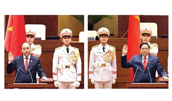 Tân Chủ tịch nước, tân Thủ tướng Chính phủ: Vượt qua mọi khó khăn, hoàn thành tốt nhất trọng trách mới