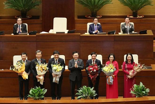 Các nhân sự trình Quốc hội tại kỳ họp này được khẳng định là đã được cơ quan có thẩm quyền xem xét thận trọng, kỹ lưỡng...