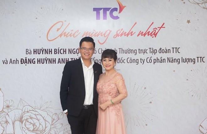 Ông Đặng Huỳnh Anh Tuấn và bà Huỳnh Bích Ngọc (Ảnh: TTC).