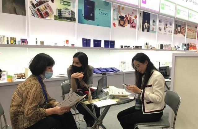 """Các công ty Việt Nam quan tâm tới sản phẩm có thể kết nối làm việc theo kiểu """"một kèm một"""" với nhà cung cấp Hàn Quốc."""