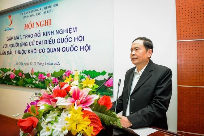 Phó chủ tịch Thường trực Quốc hội Trần Thanh Mẫn chia sẻ kinh nghiệm (Ảnh Quochoi.vn).